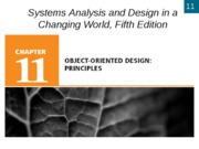 Chapter 11- Object-Oriented Design- Principles