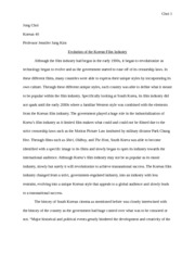 korean essay choi jong choi korea professor jung kim  9 pages korean 40 essay 2