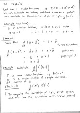 Parametric curves (notes)