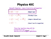 Ch 29 - Electric Potential(1)