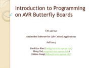 Lec5-AVR Butterfly Intro