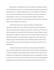 Rickey Smiley Essay