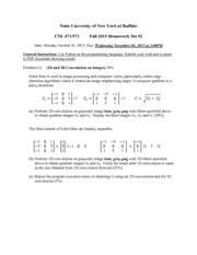 CSE473-573 Homework Set #3