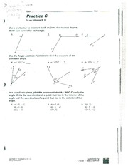 3 angles pair worksheet