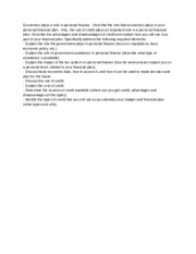 Personal finance statement pdf    PDF PERSONAL FINANCIAL STATEMENT