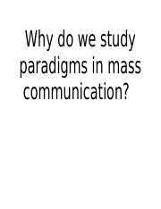 perspectives on mass communication.ppt