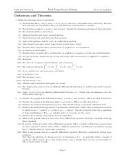 calc 153 review packet