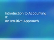 1.2 Introduction to Accounting II