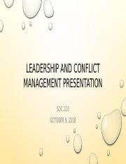 _WK3_Leadership and conflict management presentation.pptx