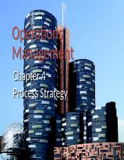 Chapter 7-Process Design