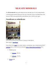 SILICATE MINERALS 2.docx