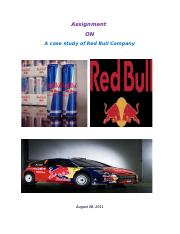 Assignment_on_A_case_study_of_Red_Bull_C