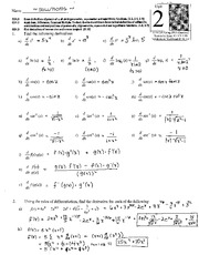 MTH 210 Unit 2 review with answers