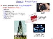 Topic 4  Fossil Fuels