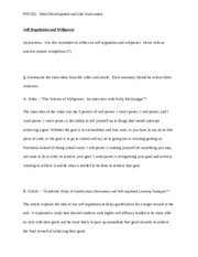 adult development and life assessment essay Health assessments in primary care appendix 4: adult health assessment sample questions.