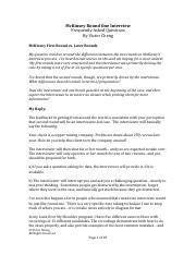 LOMS-Notes McKinsey Round One FAQs - McKinsey Round One