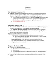 GENB Ch7 Notes