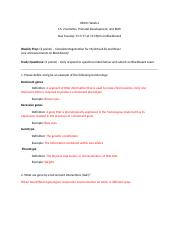 HD101 Ch. 2 Weekly Prep and Study Questions(1) copy.docx