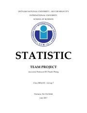 [IU] MBA - Statistic - Team Project - MBA162 -  Group 7.pdf