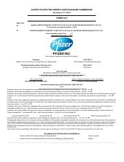 pfizer selections