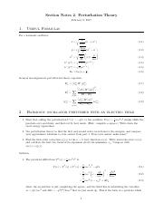 2. Non-Degenerate Perturbation Theory.pdf