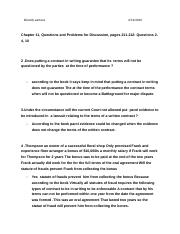 Chapter 11, Questions and Problems for Discussion, pages 211-212: Questions 2-4, 10 .docx