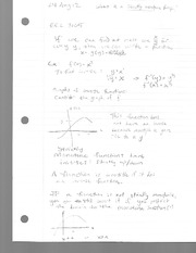 Class Notes 1