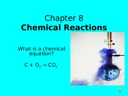Chemical Equations CHM 423 (balancing equations)
