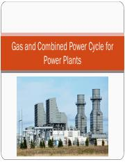 Gas and Combined Power Cycle for Power Plants.pdf