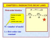 CHEM528_Ch05_RadioactiveDecayLawsSlides