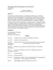 Evalutative Synthesis Overview.docx