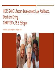 HDFS 2400 ppt_Late Adulthood, Death, and Dying.pdf