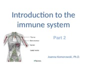 The immune system part 2 JK Summer 2015