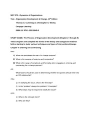Chp 4 Study Guide