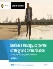Business strategy, corporate strategy and diversification (Blackboard).pptx