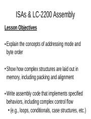 Ch2 #1.Assembly Lesson pt.1