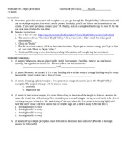 Worksheet #1-Depth Perception-revised 1-10-13.doc