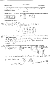 Stat 511 2003 Exam 1 Solutions