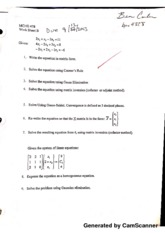 MCHE 478 Worksheet B