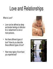 Love and Relationships.pdf
