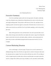 Unit 2 Marketing Plan Part 1.docx