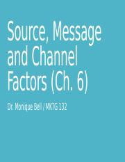 ch 6 Source Message Channel