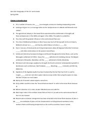 Chapter 11 Reading Quiz Questions