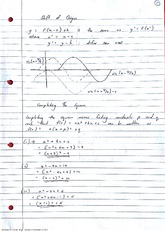 Shift of Origin Lecture Notes 10