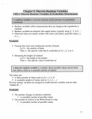 Stats Ch. 5 Notes