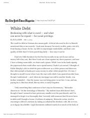White Debt - The New York Times (1).pdf