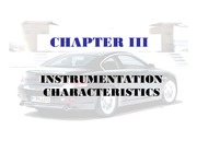 Chapter 03A - Instr Characteristic