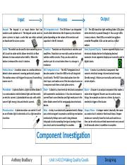 Component Investigation (The Problem Add On).docx