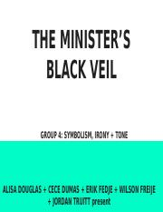 The Minister's Black Veil: Symbolism, Irony & Tone [Group 4]