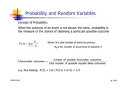Lecture Notes on Probability and Random Variables